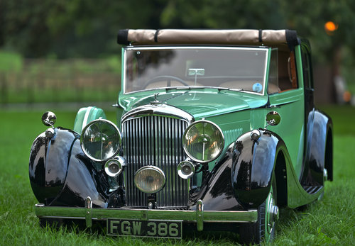 1938 Derby Bentley 4.25 litre MR 'Overdrive' Brougham de Vil SOLD (picture 1 of 6)