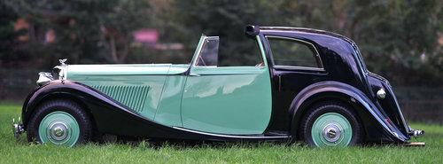 1938 Derby Bentley 4.25 litre MR 'Overdrive' Brougham de Vil SOLD (picture 2 of 6)