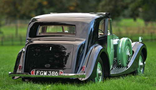 1938 Derby Bentley 4.25 litre MR 'Overdrive' Brougham de Vil SOLD (picture 3 of 6)