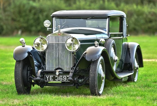 1927 Hispano Suiza H6B Park Ward foursome Coupe For Sale (picture 1 of 6)