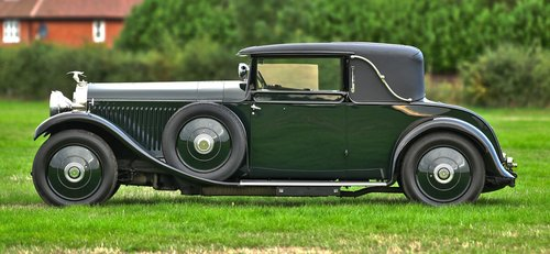 1927 Hispano Suiza H6B Park Ward foursome Coupe For Sale (picture 2 of 6)