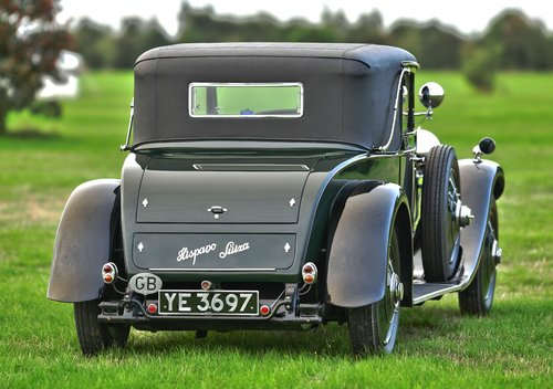 1927 Hispano Suiza H6B Park Ward foursome Coupe For Sale (picture 3 of 6)