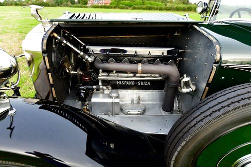 1927 Hispano Suiza H6B Park Ward foursome Coupe For Sale (picture 6 of 6)