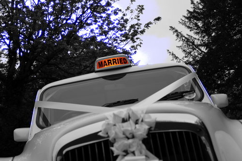 1997 White London Taxi Wedding Car Hire For Hire (picture 2 of 6)