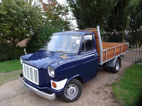 Rear Bull Nose Transit MK1 Pick Up For Sale (picture 1 of 6)