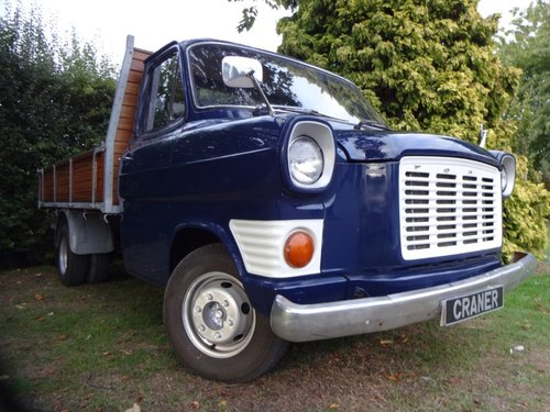 Rear Bull Nose Transit MK1 Pick Up For Sale (picture 2 of 6)