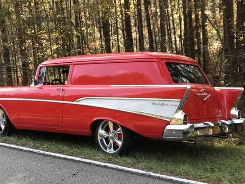 1957 Chevrolet Bel Air 2DR Sedan Delivery For Sale (picture 3 of 6)