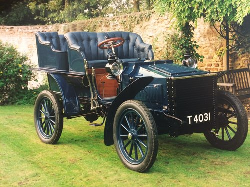 1903 White Model C Steam Car SOLD (picture 1 of 6)