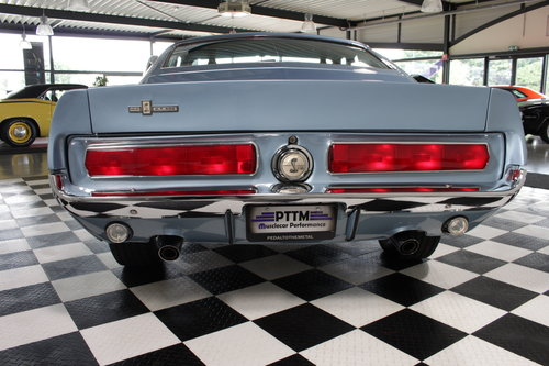 1967 Shelby GT500 4 spd in Brittany blue restored ! For Sale (picture 5 of 6)