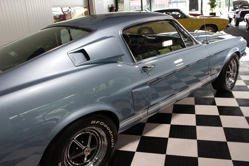 1967 Shelby GT500 4 spd in Brittany blue restored ! For Sale (picture 6 of 6)