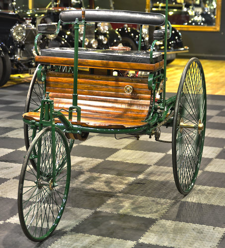 1886 Benz Patent Motor Wagen Replica For Sale