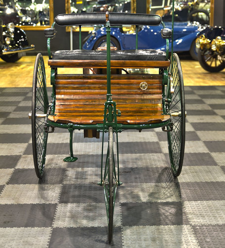 1886 Benz Patent Motor Wagen Replica For Sale (picture 2 of 6)