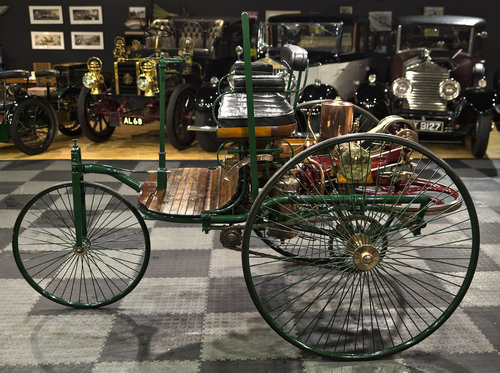 1886 Benz Patent Motor Wagen Replica For Sale (picture 3 of 6)