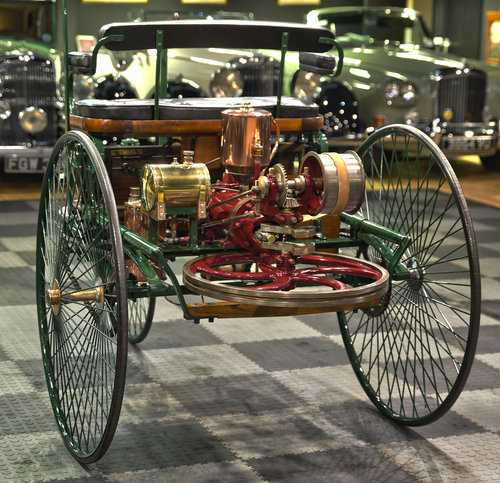 1886 Benz Patent Motor Wagen Replica For Sale (picture 4 of 6)