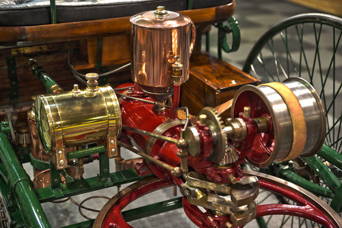 1886 Benz Patent Motor Wagen Replica For Sale (picture 6 of 6)