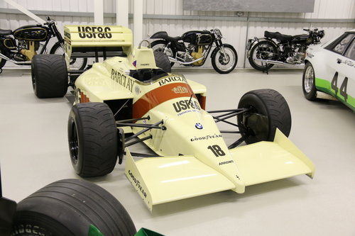 1986 ARROWS FORMULA 1 'THIERRY BOUTSEN SOLD (picture 1 of 3)