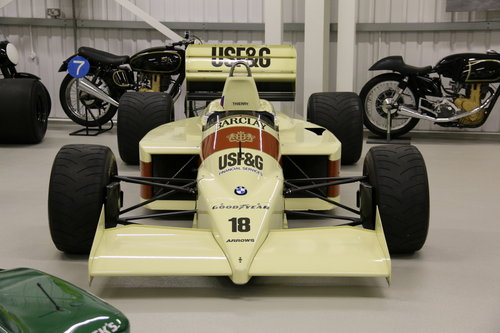 1986 ARROWS FORMULA 1 'THIERRY BOUTSEN SOLD (picture 2 of 3)