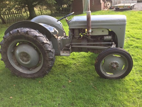 1952 FERGUSON TE20 GREY FERGIE TRACTOR SEE VID CAN DELIVER