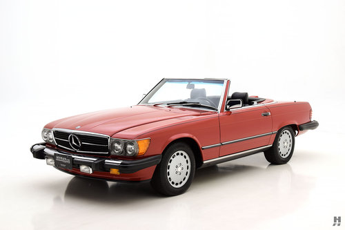 1987 MERCEDES-BENZ 560SL CONVERTIBLE SOLD (picture 1 of 6)