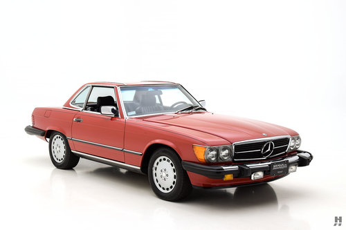 1987 MERCEDES-BENZ 560SL CONVERTIBLE SOLD (picture 2 of 6)