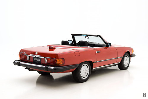 1987 MERCEDES-BENZ 560SL CONVERTIBLE SOLD (picture 3 of 6)