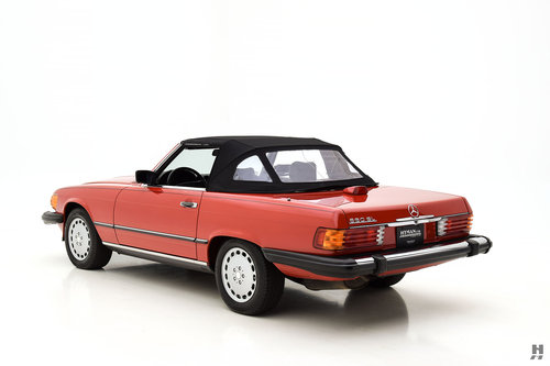 1987 MERCEDES-BENZ 560SL CONVERTIBLE SOLD (picture 4 of 6)