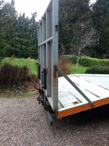 2004 Hydraulic Recovery ramps full kit ideal for plant tractors SOLD (picture 1 of 6)