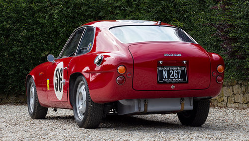 1962 EX. OSCA WORKS EX. N.A.R.T. OSCA 1600 GTS ZAGATO LE MANS CAR For Sale (picture 2 of 6)