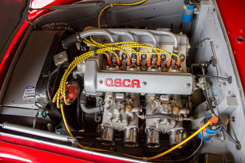 1962 EX. OSCA WORKS EX. N.A.R.T. OSCA 1600 GTS ZAGATO LE MANS CAR For Sale (picture 3 of 6)