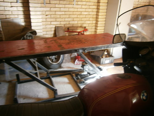 heavy duty motorcycle bench lift For Sale (picture 1 of 5)