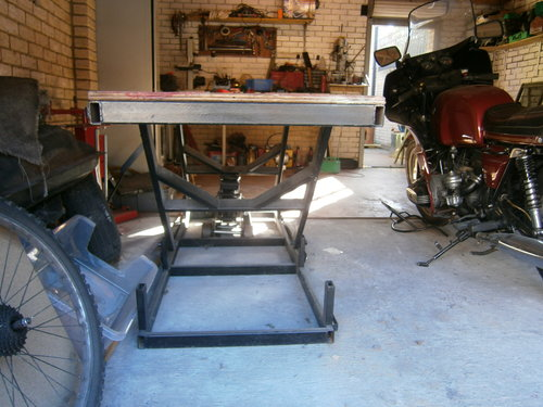 heavy duty motorcycle bench lift For Sale (picture 3 of 5)