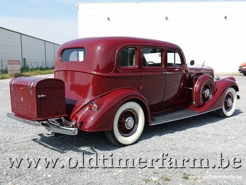 1935 Pierce-Arrow 1245 Sedan V12 '35 For Sale (picture 2 of 6)