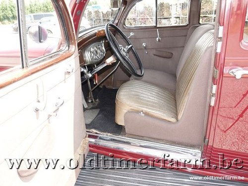 1935 Pierce-Arrow 1245 Sedan V12 '35 For Sale (picture 4 of 6)