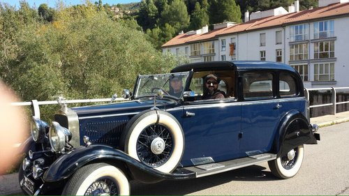 1934 Hispano suiza t60 copupe de ville For Sale (picture 1 of 6)