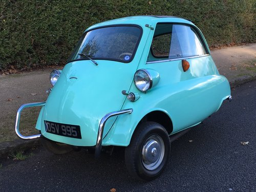 1960 BMW Isetta UK CAR - Lots of History  SOLD (picture 1 of 6)