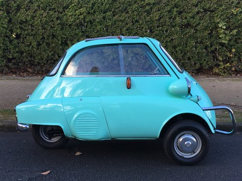 1960 BMW Isetta UK CAR - Lots of History  SOLD (picture 2 of 6)