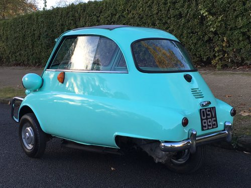 1960 BMW Isetta UK CAR - Lots of History  SOLD (picture 3 of 6)
