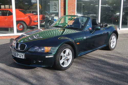 2000 BMW Z3 2.0 2dr Roadster Low Mileage  SOLD (picture 1 of 6)