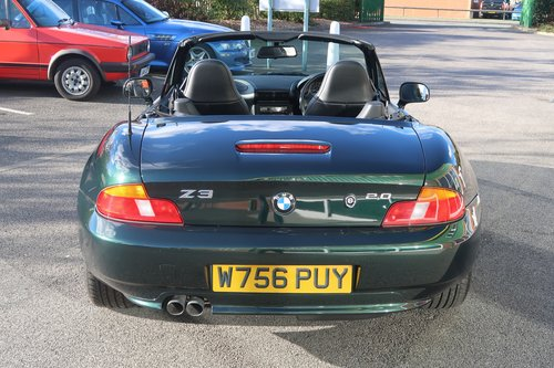 2000 BMW Z3 2.0 2dr Roadster Low Mileage  SOLD (picture 2 of 6)