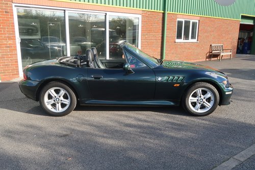 2000 BMW Z3 2.0 2dr Roadster Low Mileage  SOLD (picture 3 of 6)