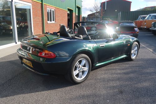 2000 BMW Z3 2.0 2dr Roadster Low Mileage  SOLD (picture 4 of 6)