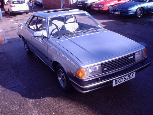 1982 MAZDA 626 2.0 PILLARLESS COUPE, PETROL SOLD (picture 2 of 6)