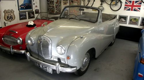 1954 AUSTIN A40 SOMERSET DROPHEAD COUPE (1 owner only 24000 miles SOLD (picture 1 of 4)