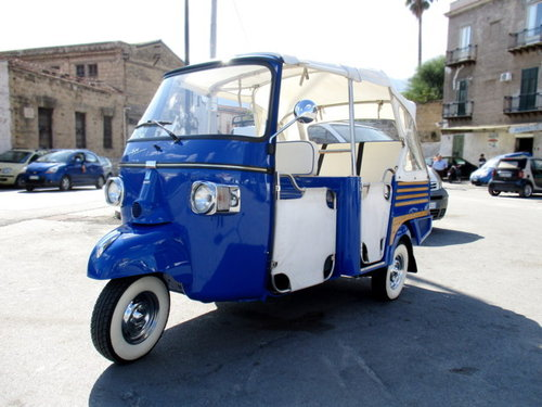 PIAGGIO APE 'GIG' 400CC NR. 352 (2007) For Sale (picture 1 of 6)