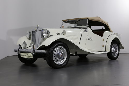 Delightful and now rare 1952 MG TD/C (competition) 57 bhp SOLD (picture 1 of 6)