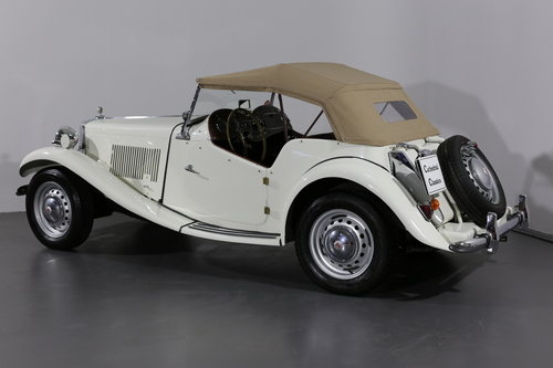 Delightful and now rare 1952 MG TD/C (competition) 57 bhp SOLD (picture 6 of 6)