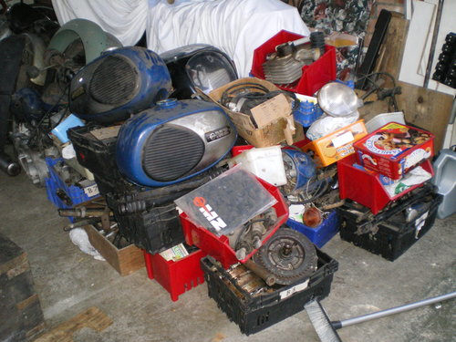 1977 MZ TS 250cc TS 125 TS 250 Supa 5,  MZ  250 ETZ Spares       For Sale (picture 3 of 6)