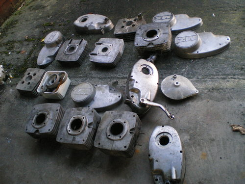 1977 MZ TS 250cc TS 125 TS 250 Supa 5,  MZ  250 ETZ Spares       For Sale (picture 4 of 6)