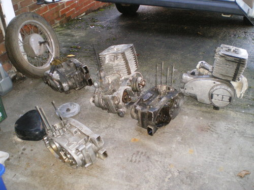 1977 MZ TS 250cc TS 125 TS 250 Supa 5,  MZ  250 ETZ Spares       For Sale (picture 2 of 6)