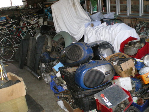1977 MZ TS 250cc TS 125 TS 250 Supa 5,  MZ  250 ETZ Spares       For Sale (picture 6 of 6)